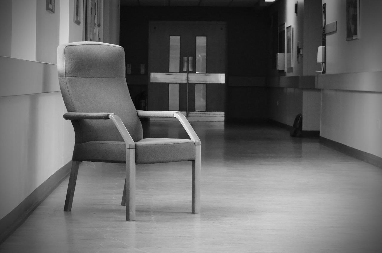 imagen del vestíbulo del hospital